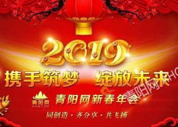 2019携手筑梦 绽放未来——青阳网新春年会
