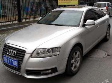银色奥迪A6出售(换车)